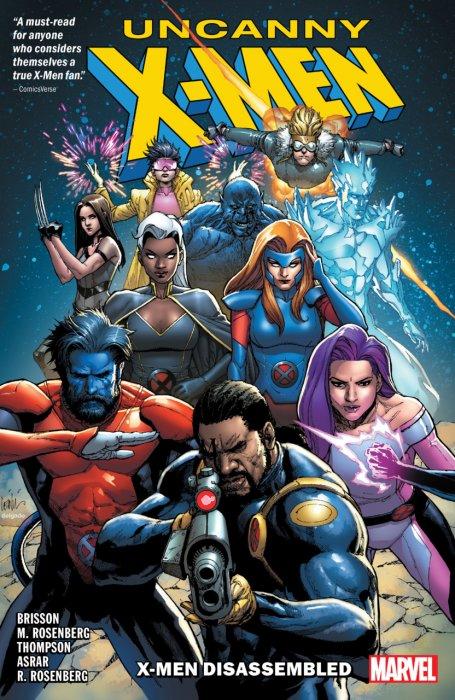 Uncanny X-Men - X-Men Disassembled #1