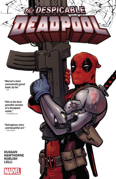 Despicable Deadpool #1 - HC