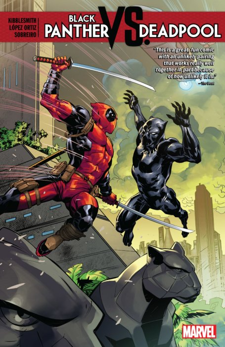 Black Panther vs. Deadpool #1 - TPB