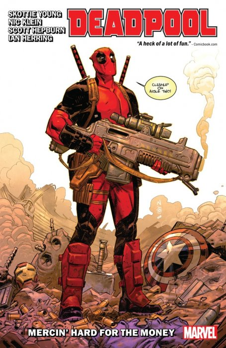 Deadpool by Skottie Young Vol.1 - Mercin' Hard For The Money