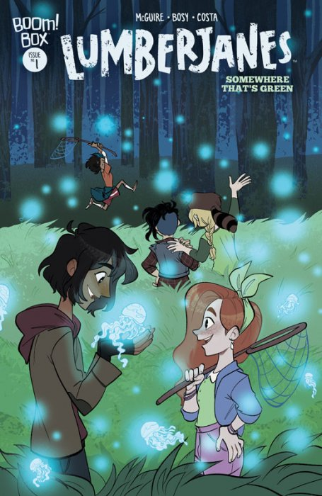 Lumberjanes - Somewhere That's Green #1