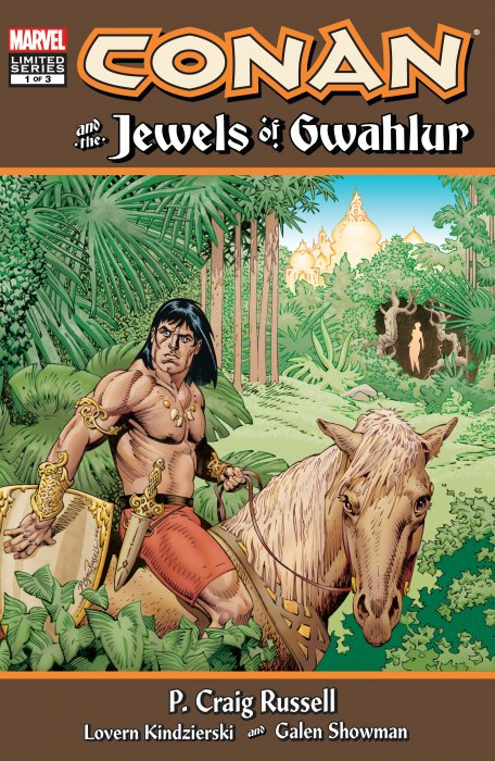 Conan and the Jewels of Gwahlur #1-3 Complete