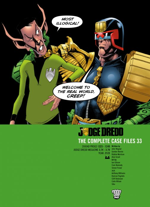 Judge Dredd - The Complete Case Files Vol.33