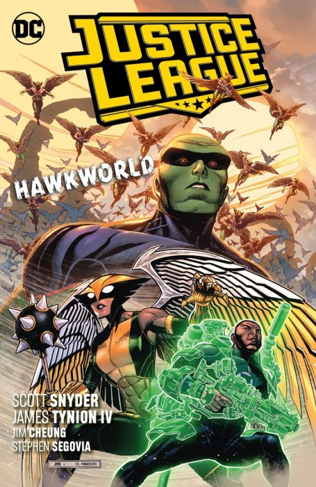 Justice League Vol.3 - Hawkworld