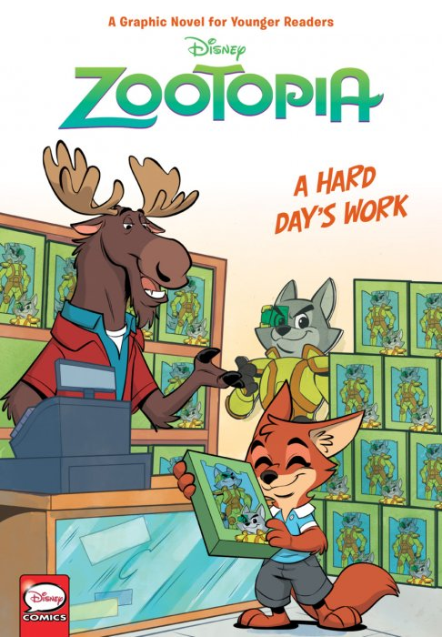 Zootopia - A Hard Day's Work #1 - GN