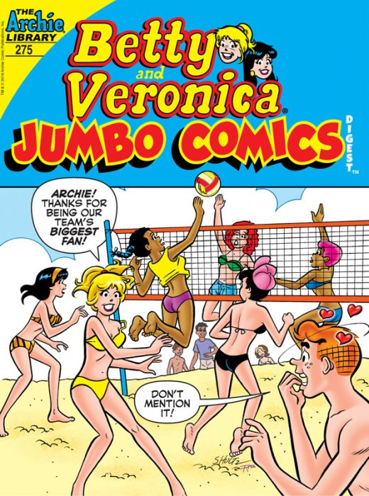 Betty & Veronica Double Digest Magazine #275