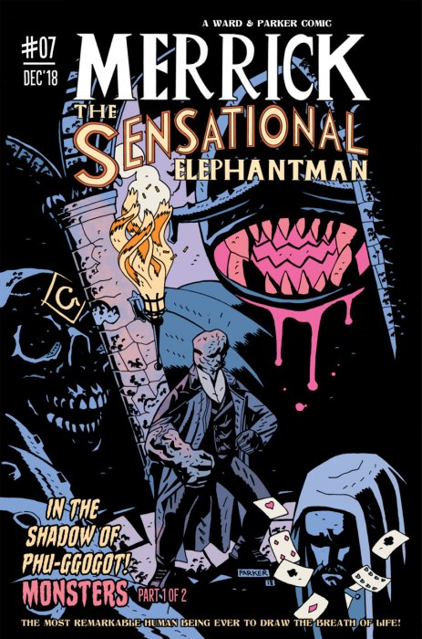 Merrick - The Sensational Elephantman #7
