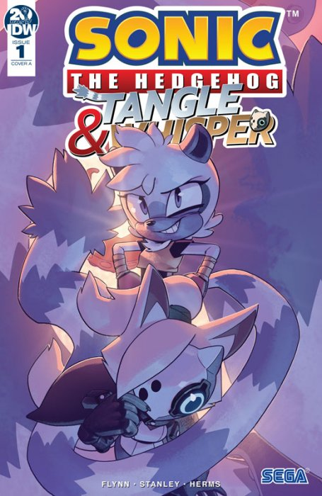 Sonic the Hedgehog - Tangle & Whisper #1