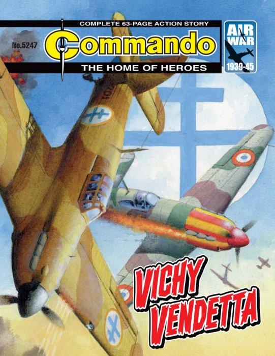 Commando #5247-5250