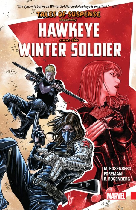 Tales of Suspense - Hawkeye & The Winter Soldier #1 - TPB