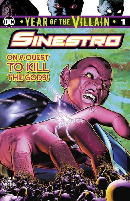 Sinestro - Year Of The Villain #1