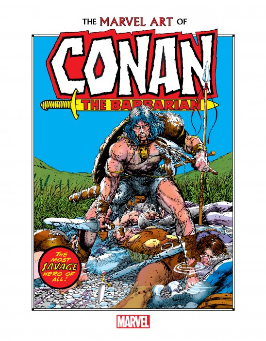 Marvel Art of Conan the Barbarian #1
