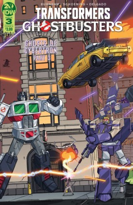 Transformers - Ghostbusters #3