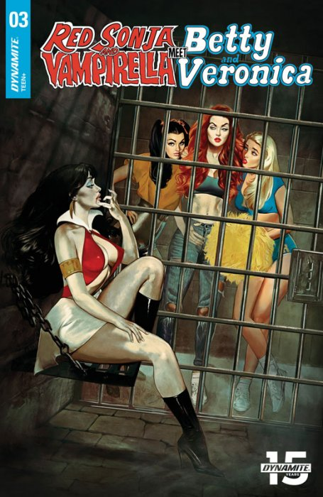 Red Sonja and Vampirella Meet Betty and Veronica #3