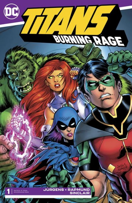 Titans - Burning Rage #1