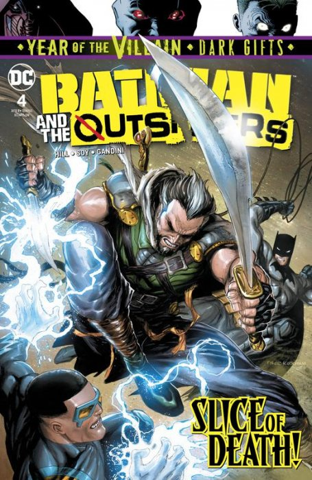 Batman & the Outsiders #4