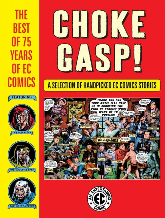 Choke Gasp! The Best of 75 Years of EC Comics Sampler #1