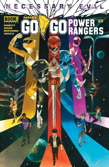 Saban's Go Go Power Rangers #22