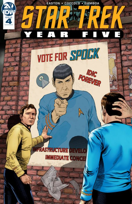 Star Trek - Year Five #4