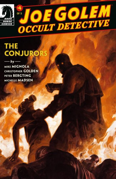 Joe Golem - The Conjurors #4