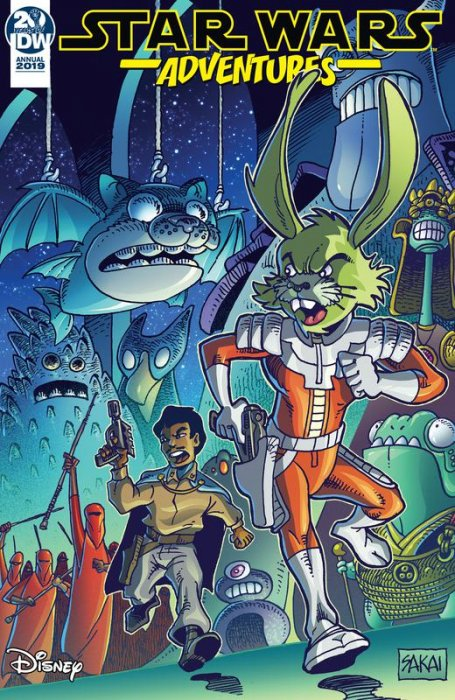 Star Wars Adventures Annual 2019