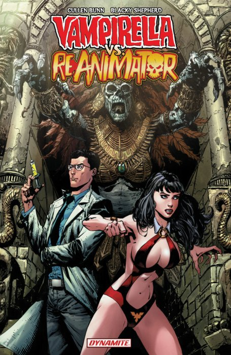 Vampirella vs Reanimator #1 - TPB