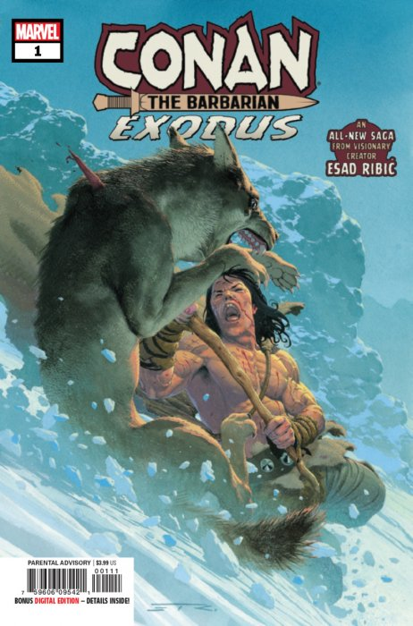 Conan the Barbarian - Exodus #1