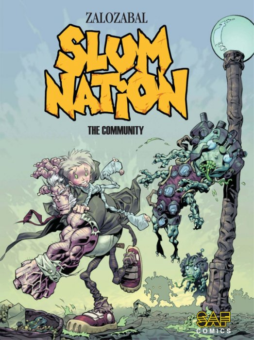 Slum Nation #1-3 Complete