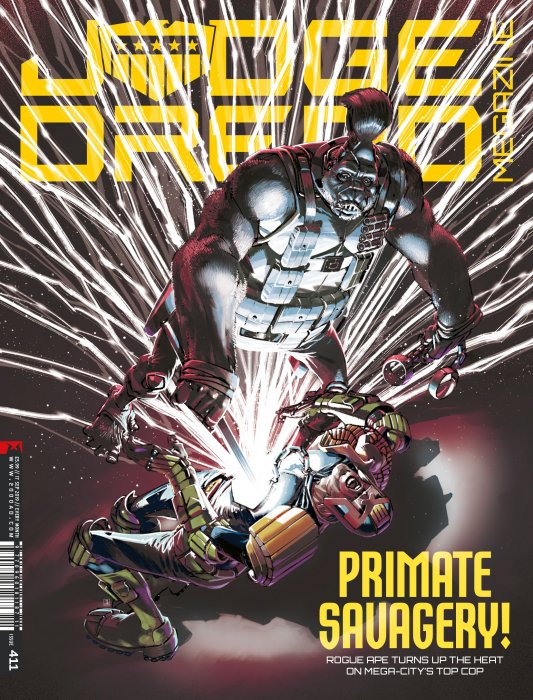 Judge Dredd The Megazine #411