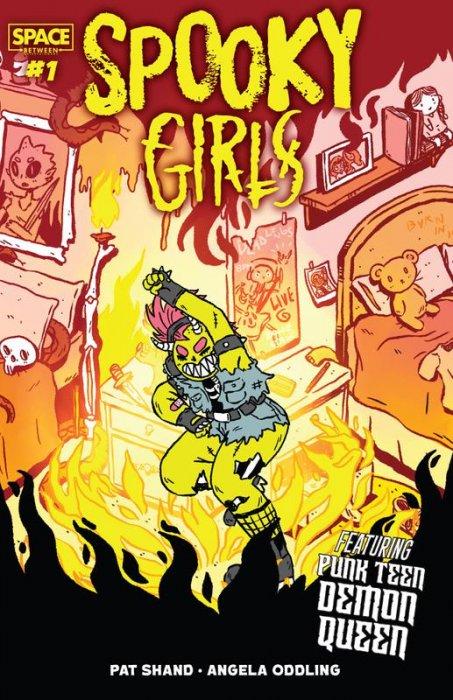 Spooky Girls - Punk Teen Demon Queen #1