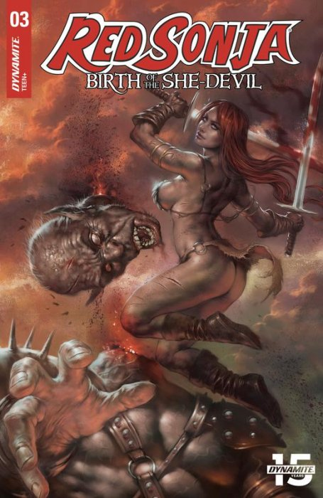 Red Sonja - Birth of the She-Devil #3