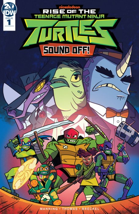 Rise of the Teenage Mutant Ninja Turtles - Sound Off! #1