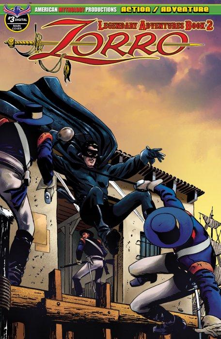 Zorro - Legendary Adventures Book 2 #3