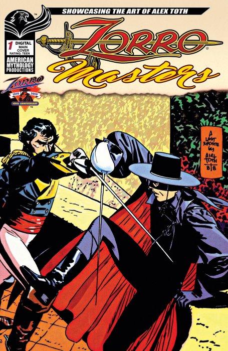 Zorro Masters #1 - Alex Toth