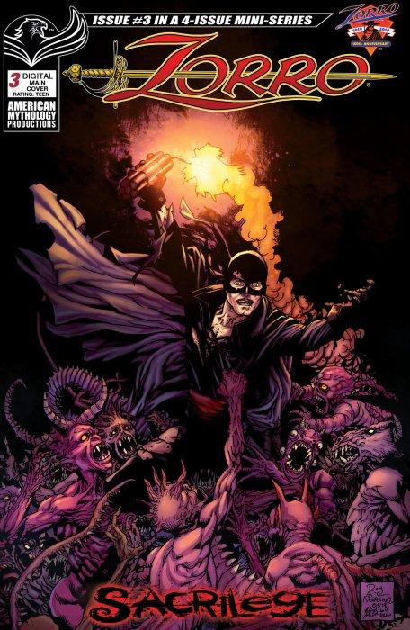 Zorro - Sacrilege #3