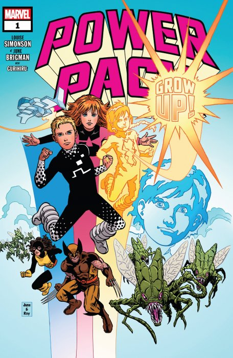 Power Pack - Grow Up! #1