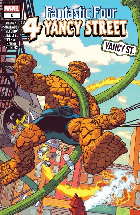 Fantastic Four - 4 Yancy Street #1