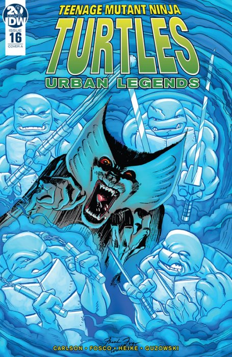 Teenage Mutant Ninja Turtles - Urban Legends #16