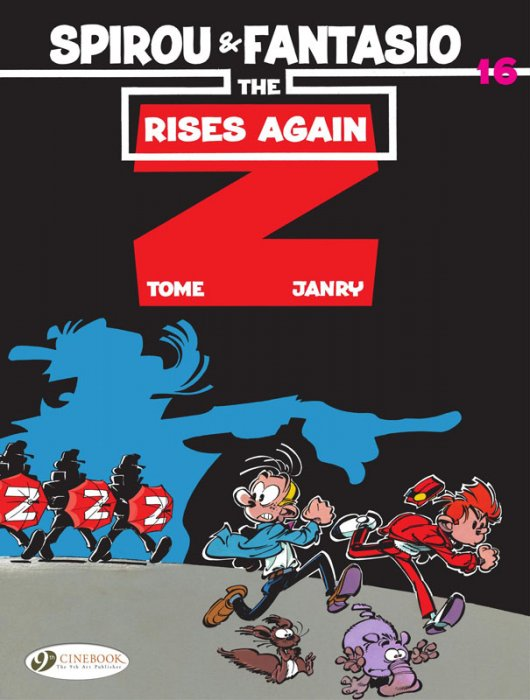 Spirou & Fantasio #16 - The Z Rises Again