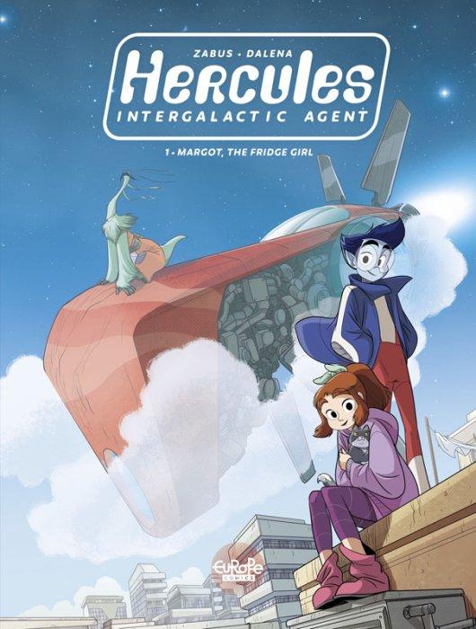 Hercules Intergalactic Agent #1 - Margot, the Fridge Girl