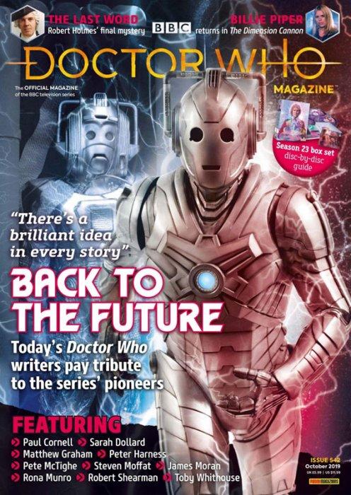 Doctor Who Magazine #542