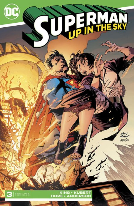 Superman - Up In The Sky #3