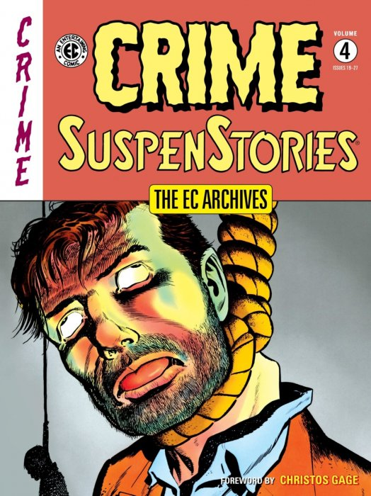 The EC Archives - Crime SuspenStories Vol.4