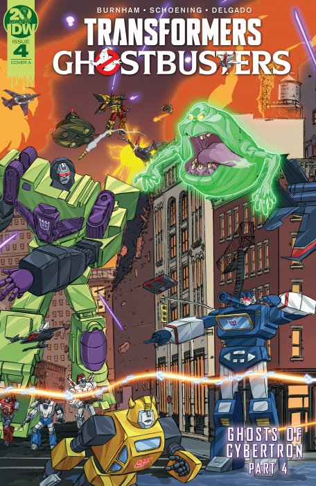 Transformers - Ghostbusters #4