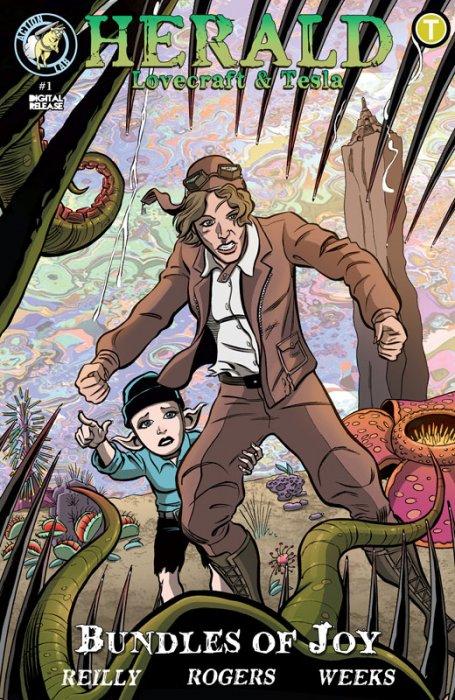 Herald - Lovecraft and Tesla #10