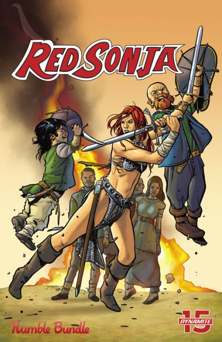 Red Sonja - Petitioning the Queen #1