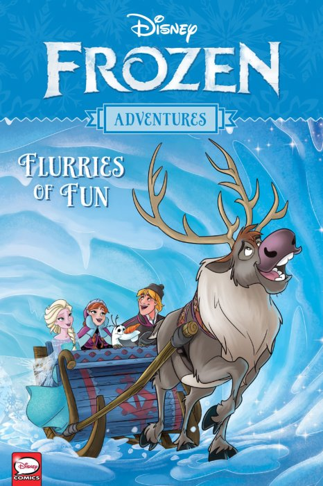 Frozen Adventures - Flurries of Fun #1 - GN