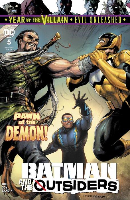 Batman & the Outsiders #5