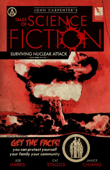 John Carpenter's Tales of Science Fiction - SURVIVING NUCLEAR ATTACK #1