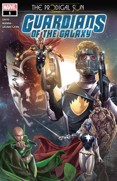 Guardians Of The Galaxy - Prodigal Sun #1
